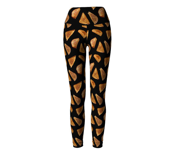 Grilled Cheese Yoga Pants-Shelfies-| All-Over-Print Everywhere - Designed to Make You Smile