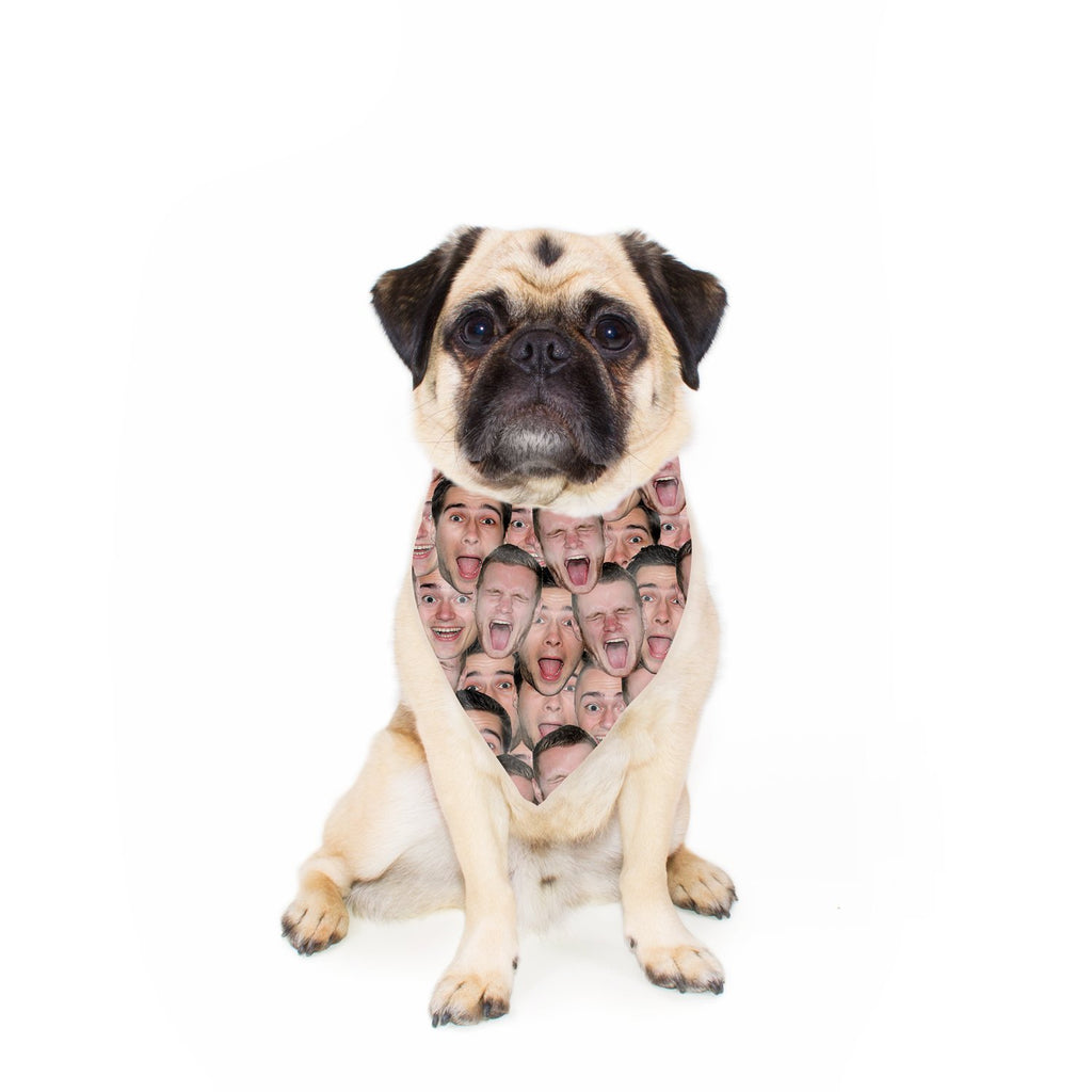 Your Face Custom Pet Bandana-Shelfies-| All-Over-Print Everywhere - Designed to Make You Smile