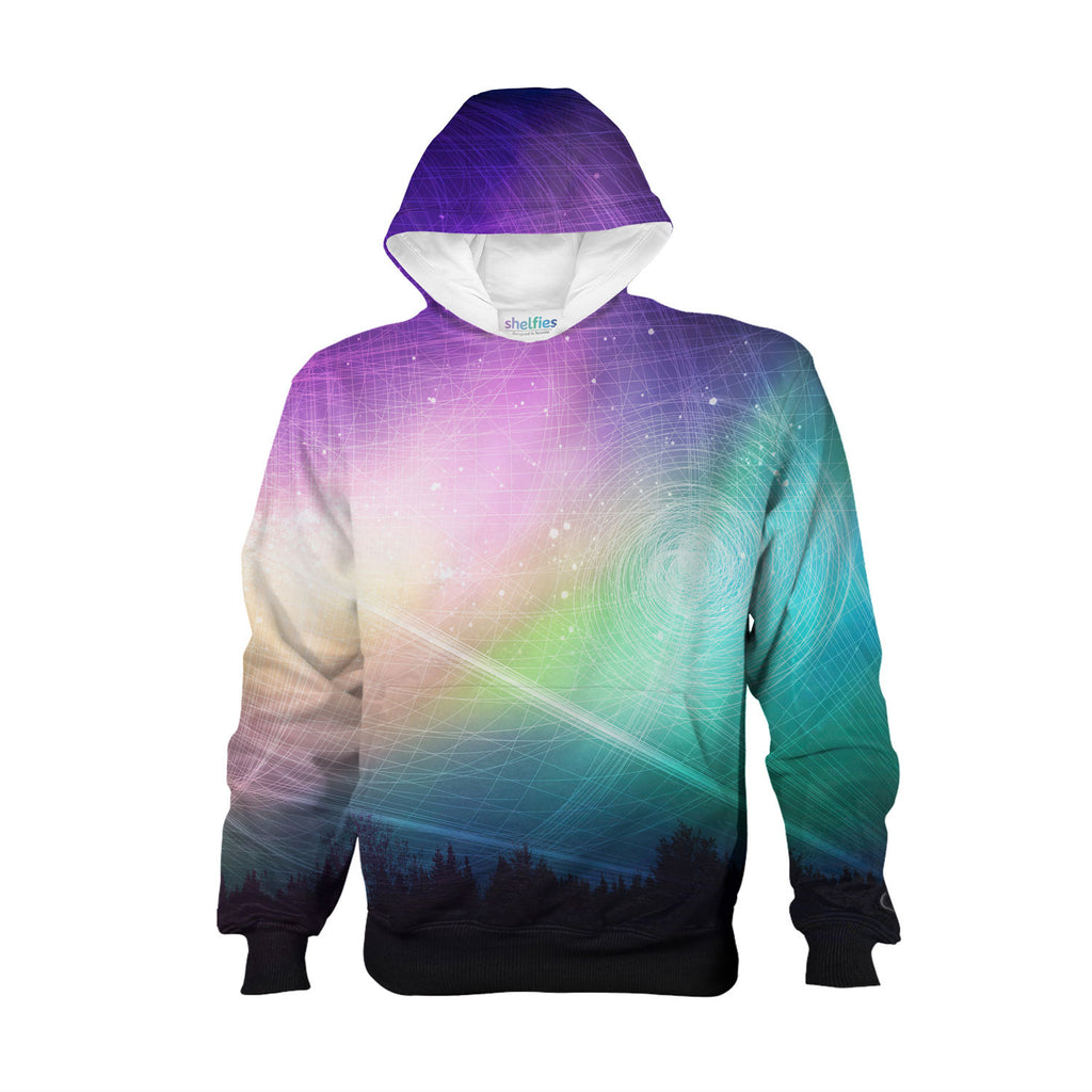 Youth Hoodies - Aurora Borealis Youth Hoodie