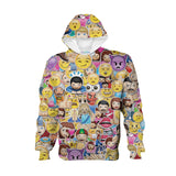 Youth Hoodies - Emoji Madness Youth Hoodie