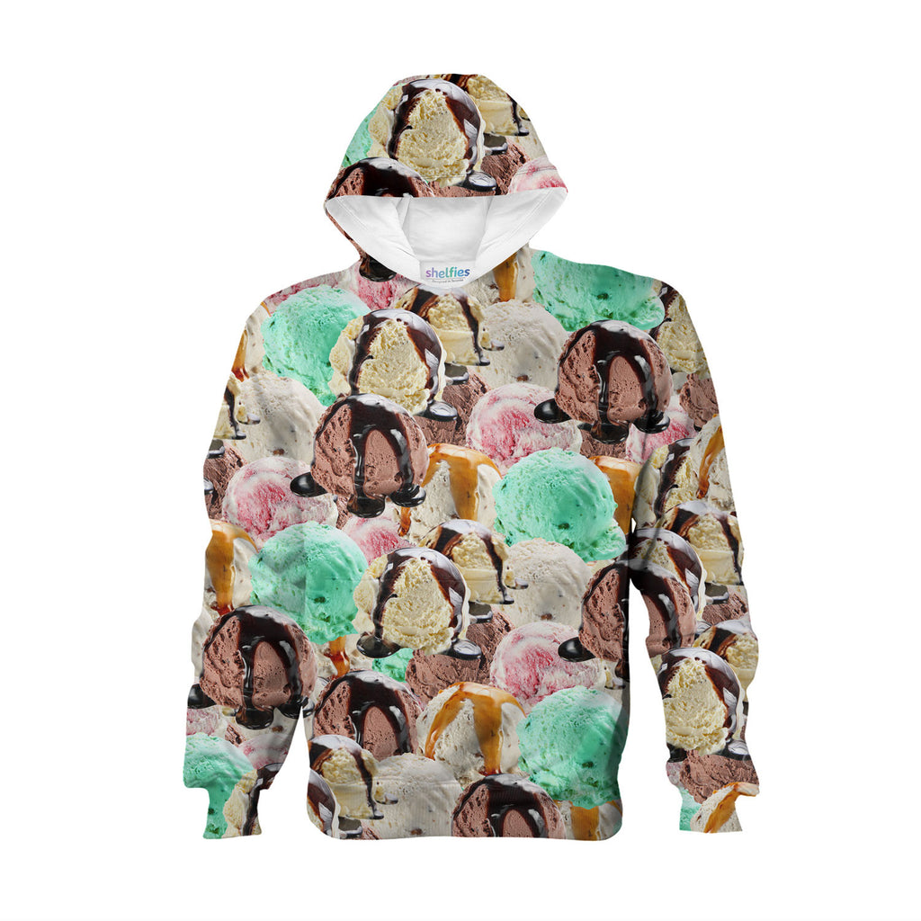 Youth Hoodies - Ice Cream Youth Hoodie