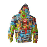 Youth Hoodies - Toy Robots Youth Hoodie
