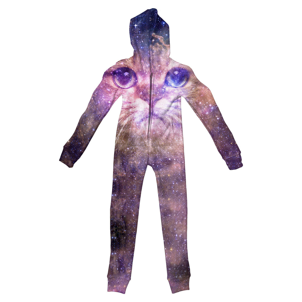 Cat Nebula Youth Jumpsuit - Shelfies | All-Over-Print Everywhere - Designed to Make You Smile