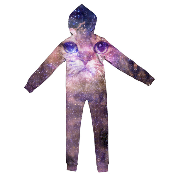 Cat Nebula Youth Jumpsuit-Shelfies-| All-Over-Print Everywhere - Designed to Make You Smile