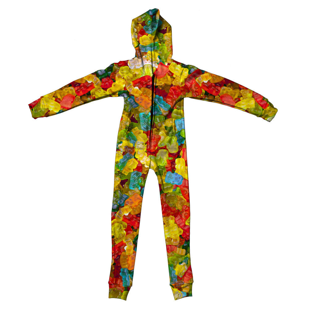 Gummy Bears Invasion Youth Jumpsuit-Shelfies-S-| All-Over-Print Everywhere - Designed to Make You Smile