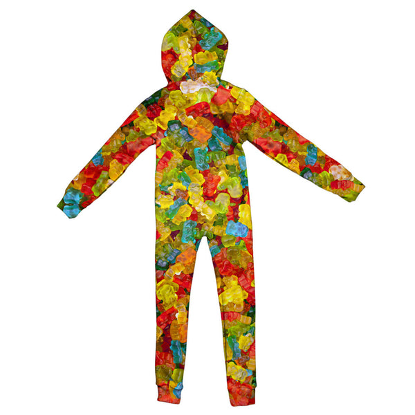 Gummy Bears Invasion Youth Jumpsuit-Shelfies-| All-Over-Print Everywhere - Designed to Make You Smile