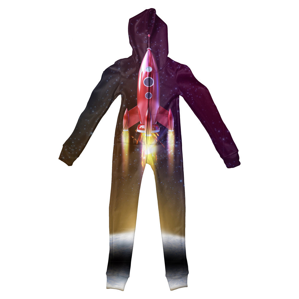 Rocket Launch Youth Jumpsuit-Shelfies-S-| All-Over-Print Everywhere - Designed to Make You Smile