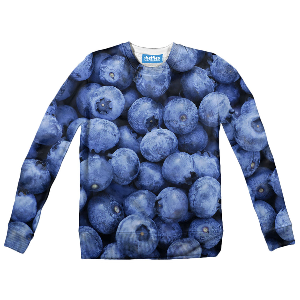 Youth Sweaters - Blueberry Youth Sweater