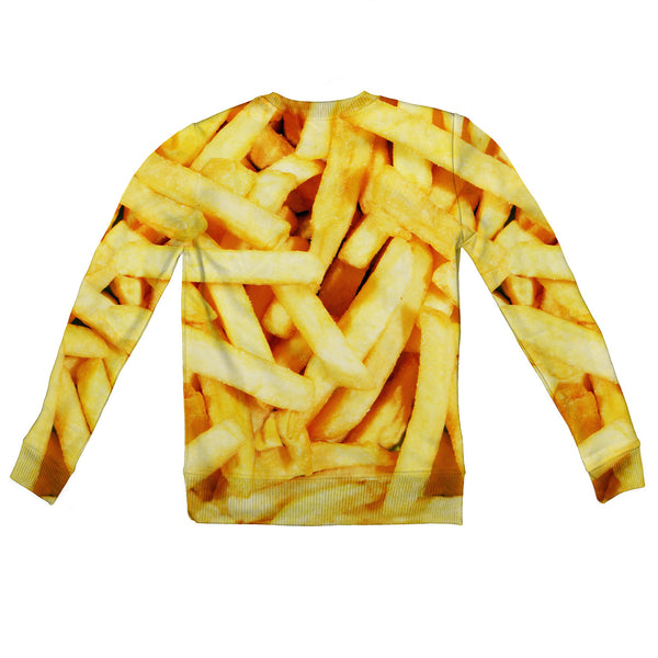 French Fries Invasion Youth Sweater-Shelfies-2T-| All-Over-Print Everywhere - Designed to Make You Smile