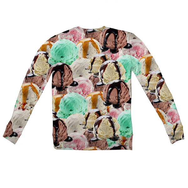 Ice Cream Invasion Youth Sweater-Shelfies-2T-| All-Over-Print Everywhere - Designed to Make You Smile