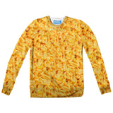 Macaroni Invasion Youth Sweater-Shelfies-| All-Over-Print Everywhere - Designed to Make You Smile