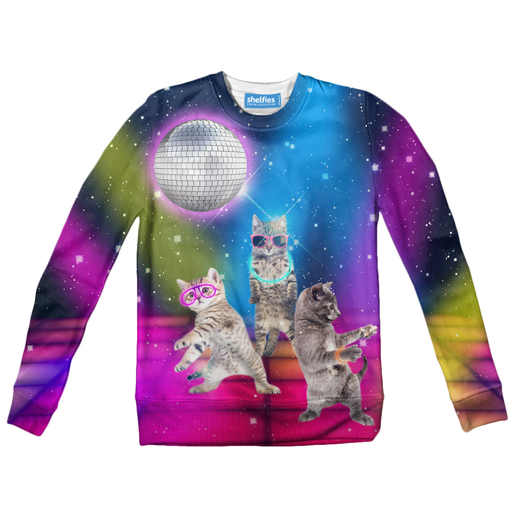 Youth Sweaters - Party Cats Youth Sweater