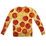 Pizza Invasion Youth Sweater-Shelfies-2T-| All-Over-Print Everywhere - Designed to Make You Smile