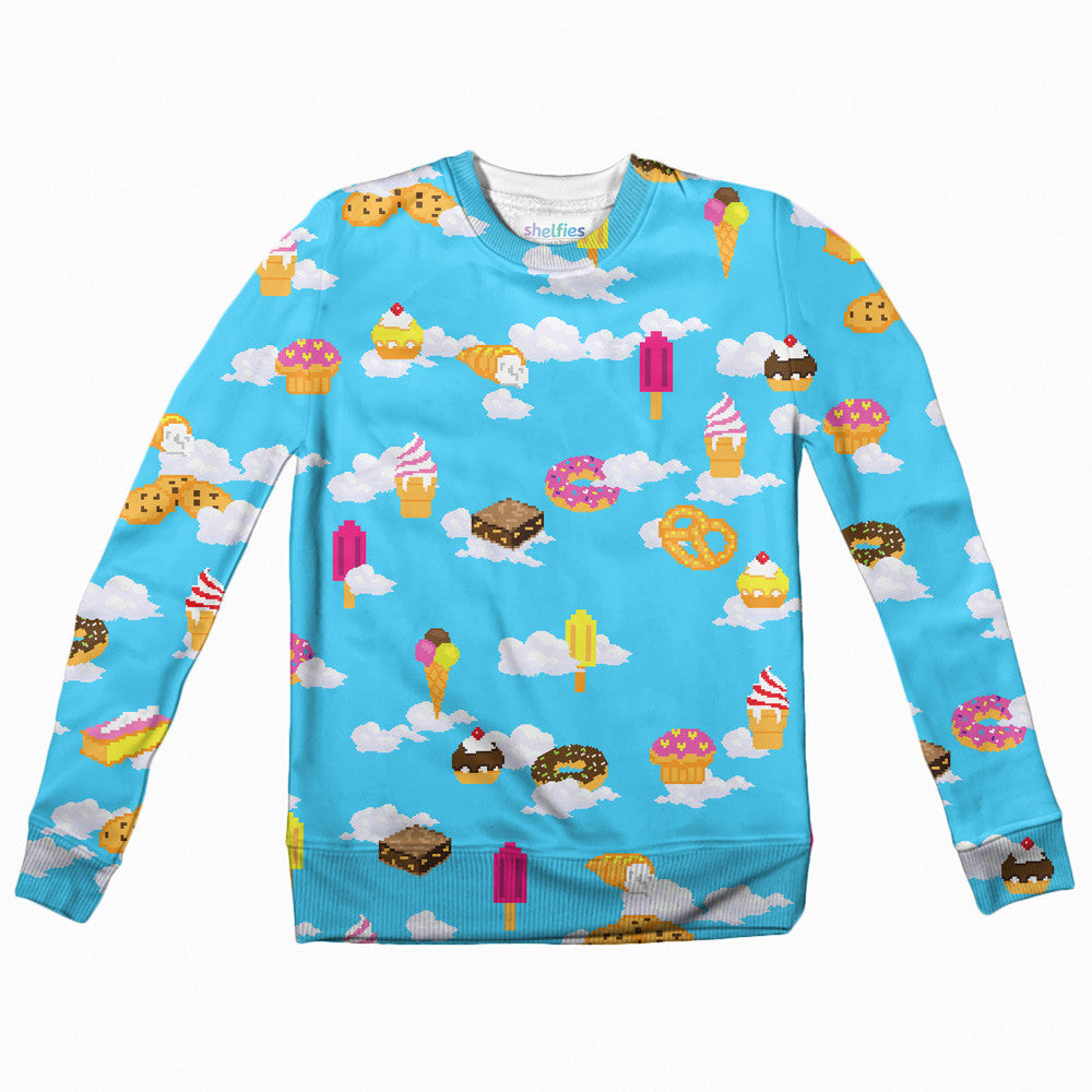 Youth Sweaters - Pixel Day Dream Youth Sweater