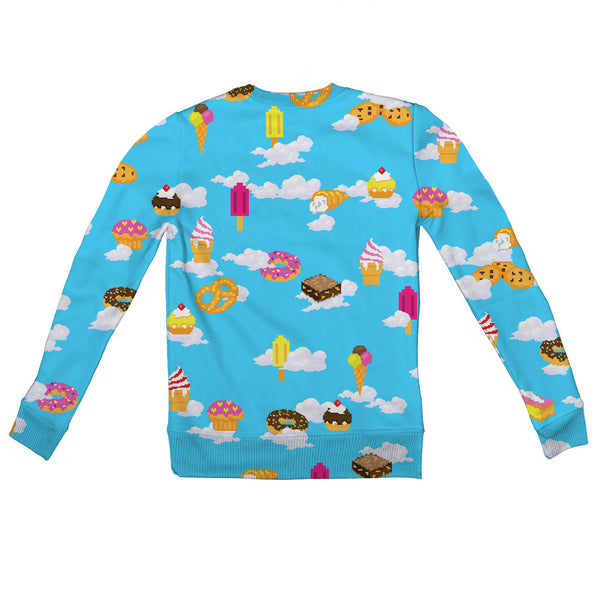 Pixel Day Dream Youth Sweater-Shelfies-| All-Over-Print Everywhere - Designed to Make You Smile