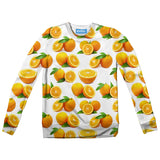 Suave Oranges Youth Sweater-Shelfies-| All-Over-Print Everywhere - Designed to Make You Smile