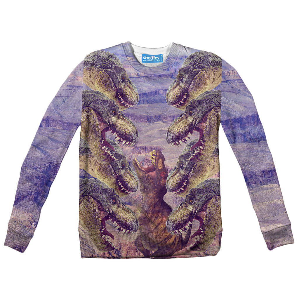 Youth Sweaters - T-Rex Youth Sweater
