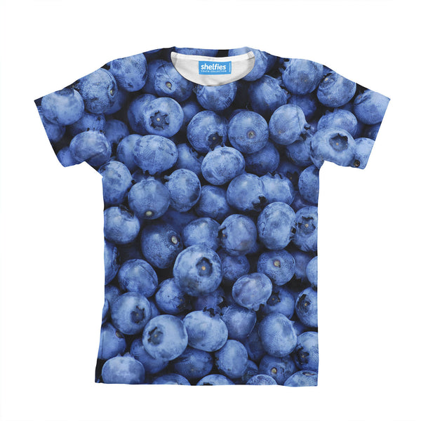 Blueberry Invasion Youth T-Shirt-kite.ly-| All-Over-Print Everywhere - Designed to Make You Smile
