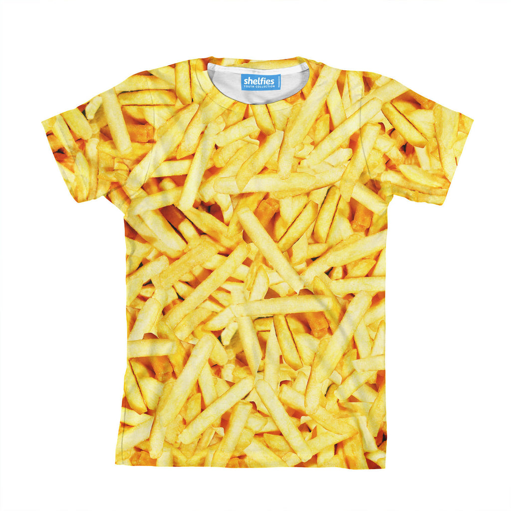 Youth T-Shirts - French Fries Invasion Youth T-Shirt