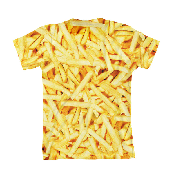 French Fries Invasion Youth T-Shirt-kite.ly-| All-Over-Print Everywhere - Designed to Make You Smile
