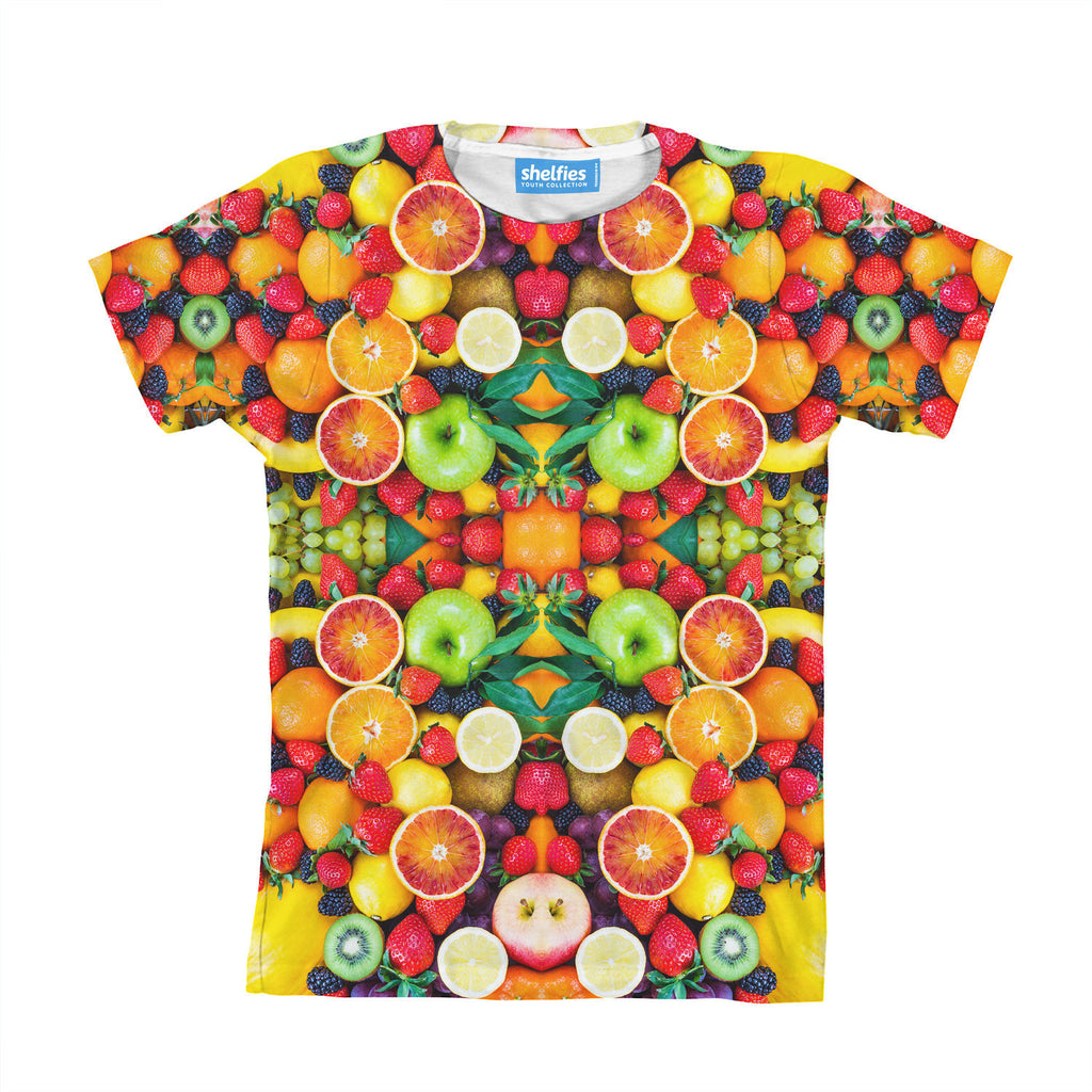 fruit explosion youth t shirt shelfies. Black Bedroom Furniture Sets. Home Design Ideas