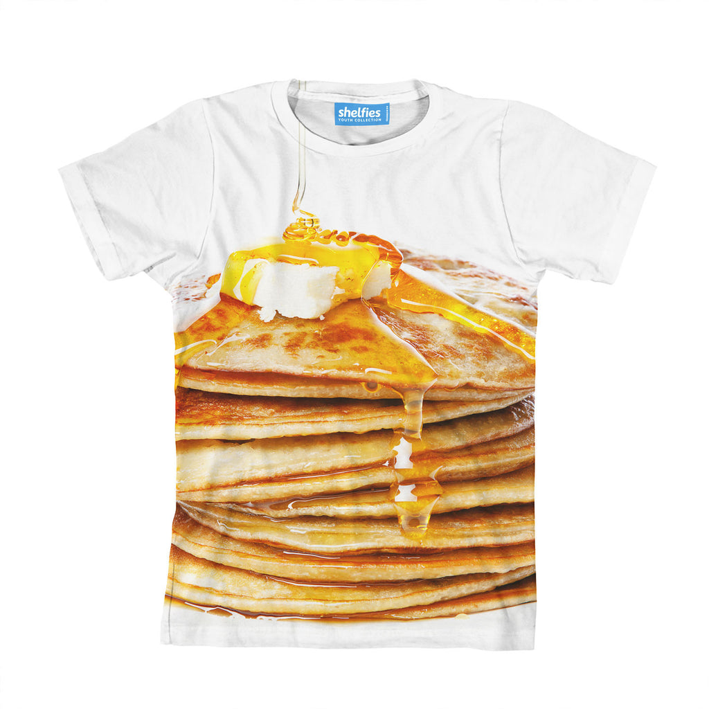 Youth T-Shirts - Pancakes Youth T-Shirt