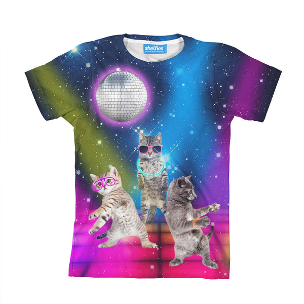 Party Cats Youth T-Shirt-kite.ly-| All-Over-Print Everywhere - Designed to Make You Smile