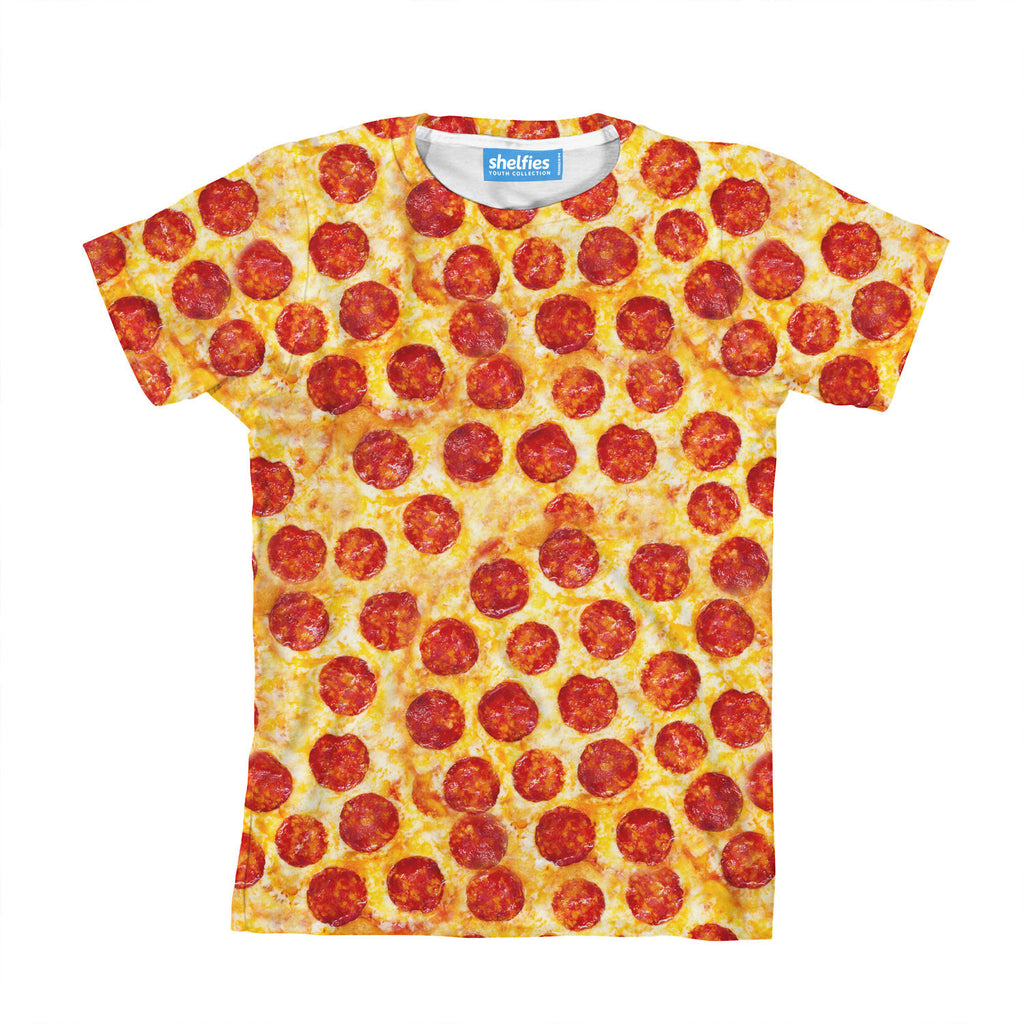 Youth T-Shirts - Pizza Invasion Youth T-Shirt