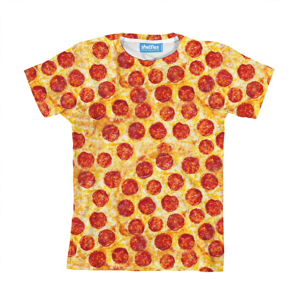 Pizza Invasion Youth T-Shirt-kite.ly-| All-Over-Print Everywhere - Designed to Make You Smile