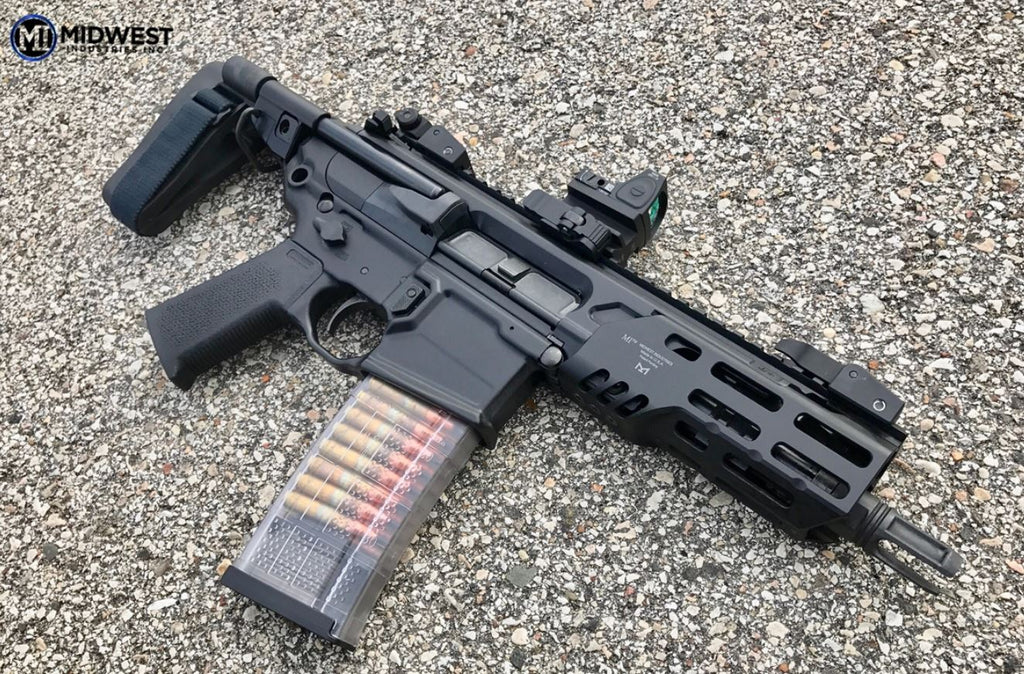 "Midwest Industries Sig Rattler 5.25"" Handguard M-LOK™ Compatible"