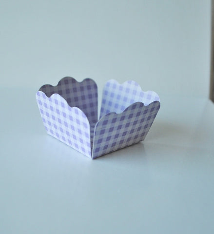 Gingham Lavender Sweet Box