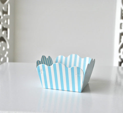 Stripe Blue Sweet Box