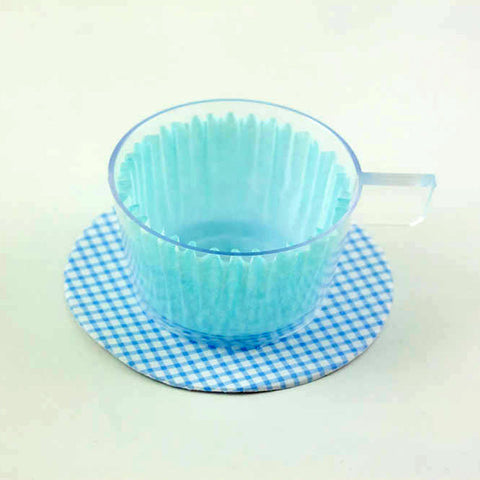 Sweet Tea Cups Blue