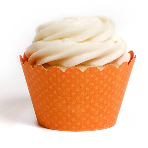 Orange Cupcake Wrapper