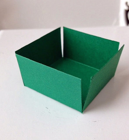 Dark Green sweet Box