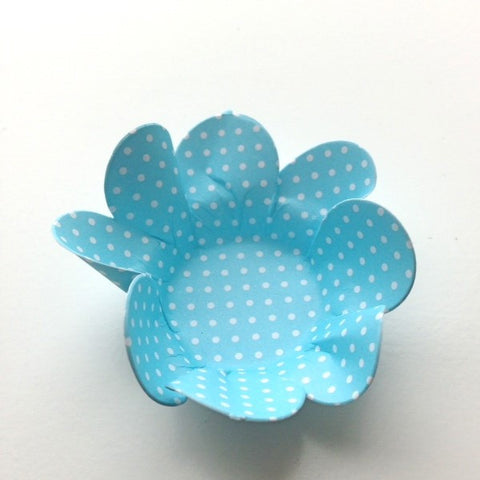 Liz Blue Polka Truffle Wrapper