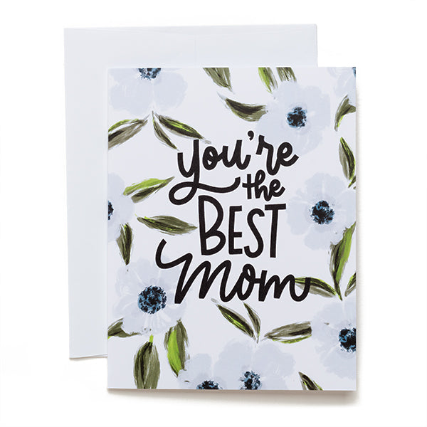 doodles.ink. You're the Best Mom Card