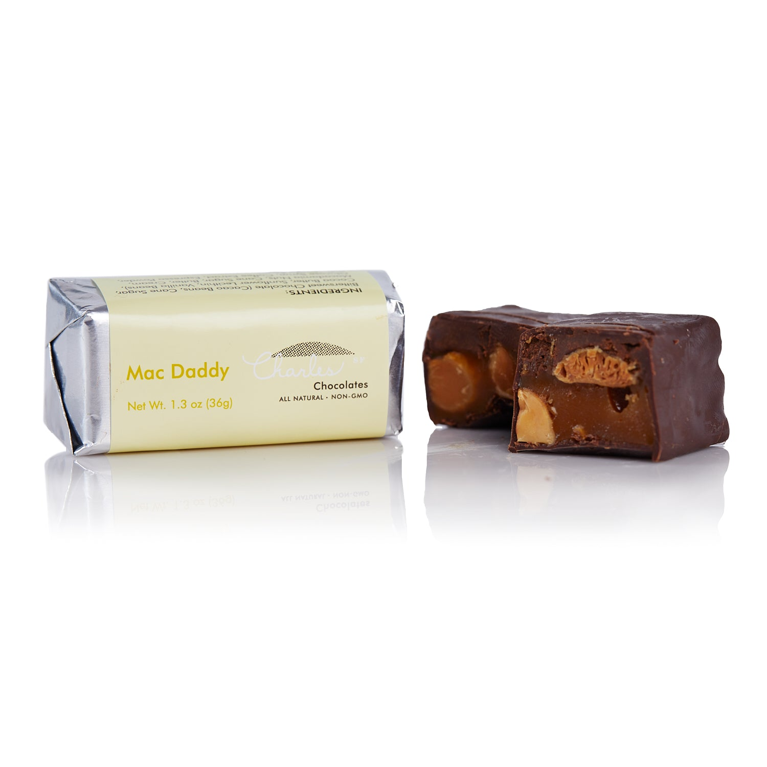 Charles Chocolates, Mac Daddy Mini Macadamia Nut Bar