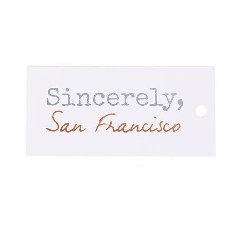 Sincerely SF