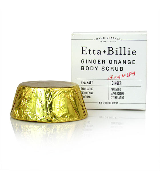 Etta + Billie, Ginger Orange Body Scrub