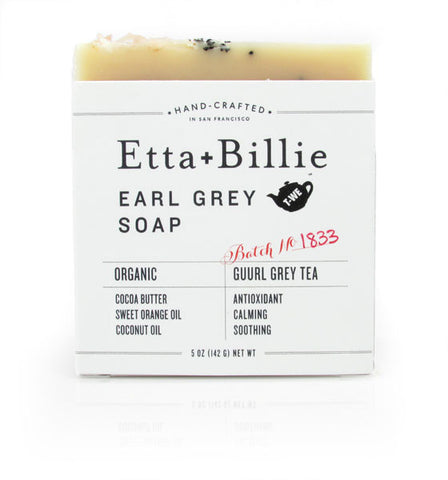 Etta + Billie, Earl Grey Soap