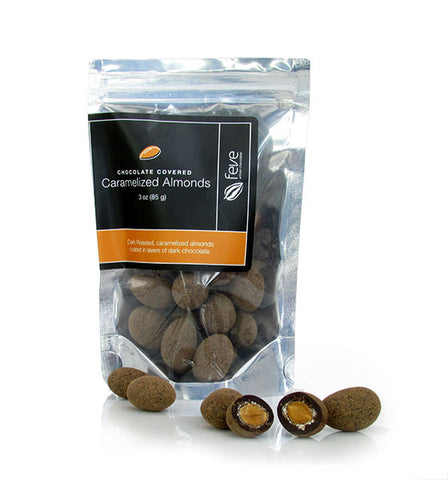 Feve Artisan Chocolatier, Dark Chocolate Covered Almonds