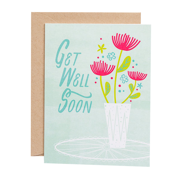 Paper Parasol Press, Get Well Soon card