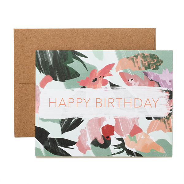Ferme à Papier, Happy Birthday Card