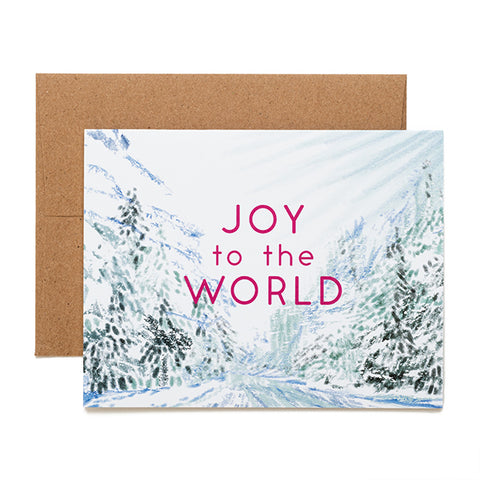 Ferme à Papier, Joy to the World card