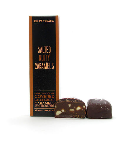 Kika's Treats, Salted Nutty Caramels