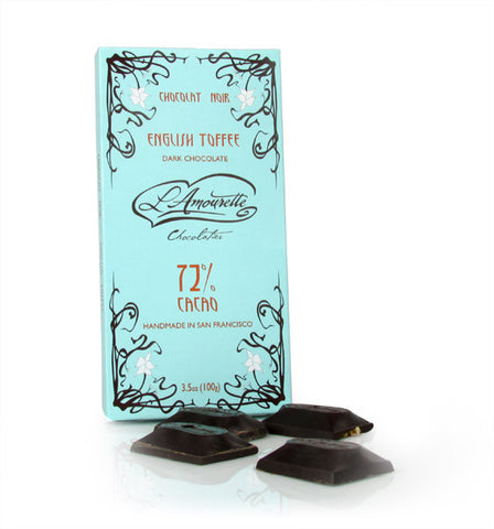 L'Amourette Chocolat, Dark Chocolate with English Toffee