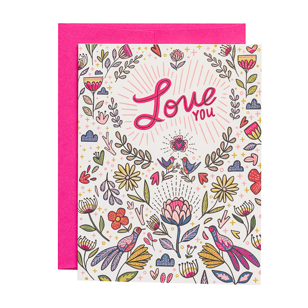 Paper Parasol Press, Love You card