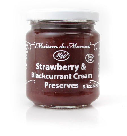Maison de Monaco, Strawberry & Blackcurrent Preserves