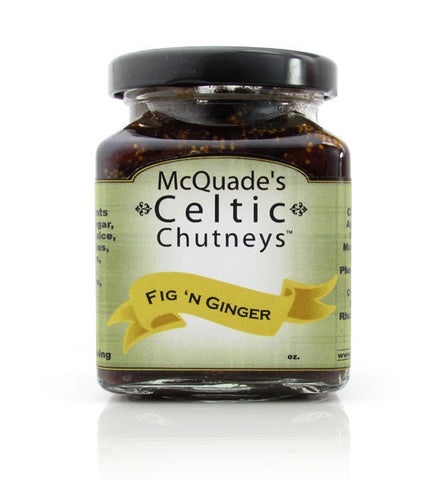 McQuade's Celtic Chutney, Fig n' Ginger